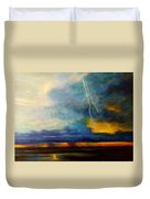 Florida Seascape Duvet Cover