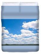Florida Sky - Tallahassee, Florida Duvet Cover