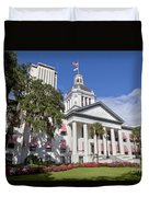 Florida State Capitol Building Duvet Cover