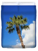 Florida State Tree Duvet Cover