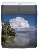 Florida Mountains Duvet Cover