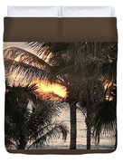 Florida Sunset 2 Duvet Cover
