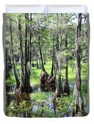 Florida Swamp Duvet Cover