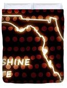 Florida - The Sunshine State Duvet Cover