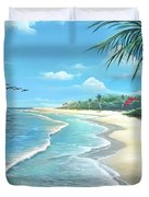 Florida Treasure Duvet Cover