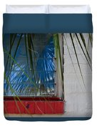 Florida Window Duvet Cover