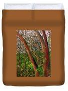 Florida Woodlands Duvet Cover