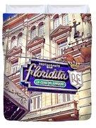 Floridita - Havana Cuba Duvet Cover