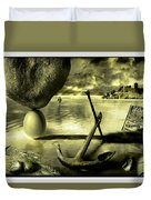 Flotsam And Jetsam Duvet Cover