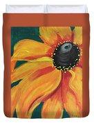 Flower A-blaze Duvet Cover