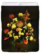 Flower Arrangement Duvet Cover