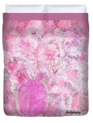 Flower Art The Scent Of Love Is In The Air Duvet Cover