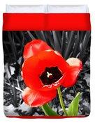 Flower As Art Duvet Cover