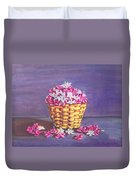 Flower Basket Duvet Cover