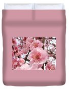 Flower Blossoms Art Spring Trees Pink Blossom Baslee Troutman Duvet Cover