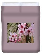 Flower Blossoms Pink Tree Blossoms Art Print Giclee Spring Flowers Duvet Cover