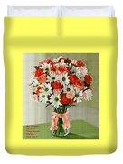 Flower Bouquet Creations Catus 1 No. 1 Duvet Cover