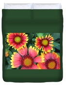 Flower Burst Duvet Cover