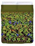 Flower Carpet. Sochi Arboretum. Duvet Cover
