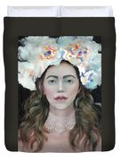 Flower Crown Duvet Cover