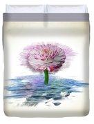 Flower Digital Art Duvet Cover