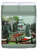 Flower Dome 29 Duvet Cover