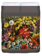 Flower Extravaganza Duvet Cover