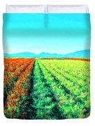 Flower Farm 1 Duvet Cover