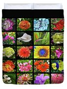 Flower Favorites Duvet Cover