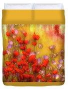 Flower Fields Of Summer Duvet Cover