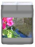 Flower Frame Duvet Cover