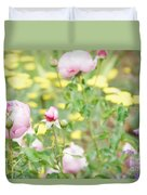 Flower Garden Bouquet Duvet Cover