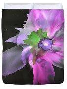Flower In Black Duvet Cover