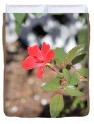 Flower In The Garden Duvet Cover