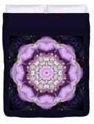 Flower Kaleidoscope 004 Duvet Cover