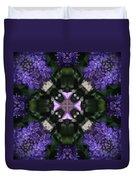 Flower Kaleidoscope_004 Duvet Cover