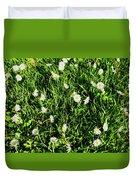 Flower Kissed Fields Duvet Cover