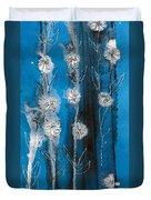 Flower Lineup Duvet Cover