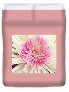Flower Macro. Duvet Cover