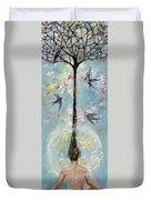 Flower Mind Duvet Cover