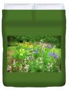 Flower Mosaic Duvet Cover