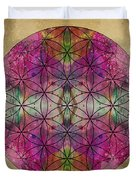 Flower Of Life Duvet Cover by Filippo B