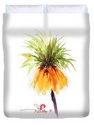 Flower Painting 2 Duvet Cover