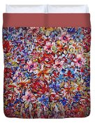 Flower Passion Duvet Cover