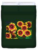 Flower Patch Duvet Cover