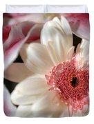 Flower Pink-white Duvet Cover