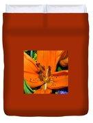 Flower Pistil Duvet Cover