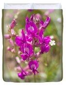 Flower Portrait 1 Duvet Cover