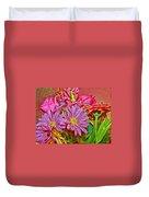 Flower Power 2 Duvet Cover