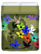 Flower Power 48 Duvet Cover